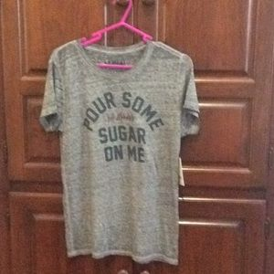 Lucky brand tee new with tags buttery soft size M